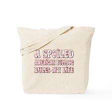 Spoiled Bulldog Tote Bag