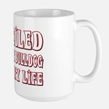 Spoiled Bulldog Large Mug