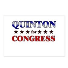 QUINTON for congress Postcards (Package of 8)