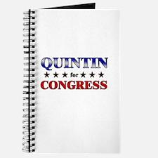 QUINTIN for congress Journal