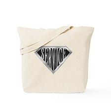 SuperService(metal) Tote Bag