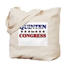 QUINTEN for congress Tote Bag