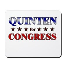 QUINTEN for congress Mousepad