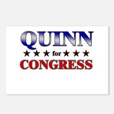 QUINN for congress Postcards (Package of 8)