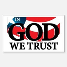 In God We Trust Decal