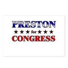 PRESTON for congress Postcards (Package of 8)