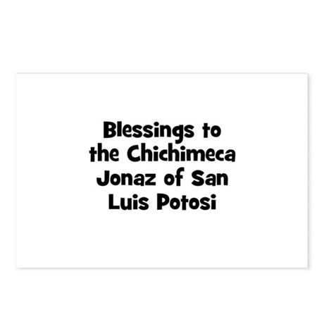 Blessings to the Chichimeca J Postcards (Package o