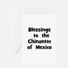 Blessings  to  the  Chinantec Greeting Cards (Pk o