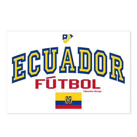 Ecuador Futbol/Soccer Postcards (Package of 8)