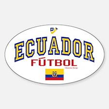 Ecuador Futbol/Soccer Decal