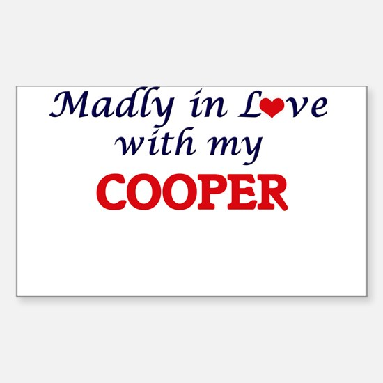Madly in love with my Cooper Decal