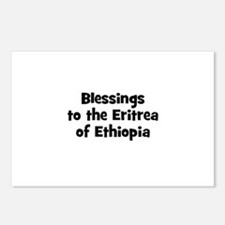 Blessings to the Eritrea of E Postcards (Package o