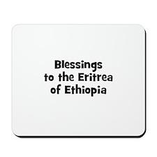 Blessings to the Eritrea of E Mousepad