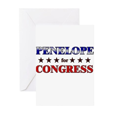 PENELOPE for congress Greeting Card