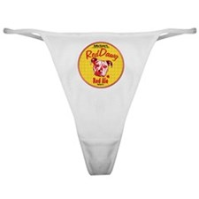 Red Nose Red Classic Thong