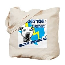Honky Tonk White Lighting Tote Bag