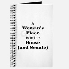 A Woman's Place is in the House and Senate Journal
