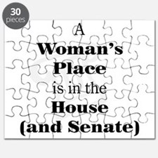 A Woman's Place is in the House and Senate Puzzle