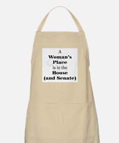A Woman's Place is in the House and Senate Apron