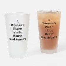 A Woman's Place is in the House and Senate Drinkin