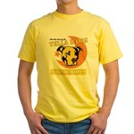 Yella Dawg Sarsaparilla Yellow T-Shirt