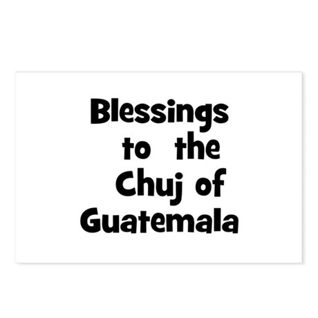 Blessings to the Chuj of G Postcards (Package o