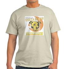 Yella Dawg Sarsaparilla Vintage Ash Grey T-Shirt