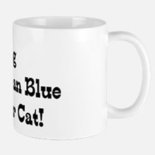 Missing Wife & Russian Blue Mug