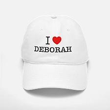 I Love DEBORAH Baseball Baseball Cap