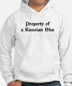Property of My Russian Blue Hoodie