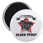Black Stout Vintage Magnet