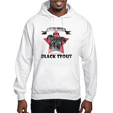 Black Stout Vintage Hooded Sweatshirt