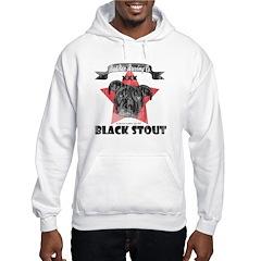 Black Stout Vintage Hoodie