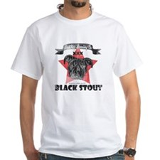 Black Stout Vintage White T-Shirt