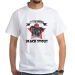 Black Stout Vintage White T-Shirt