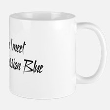 Women or Russian Blue Mug