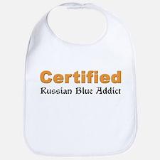 Certified Russian Blue Addict Bib