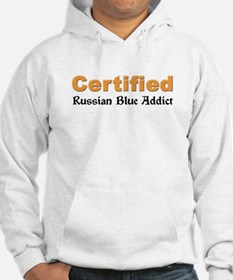 Certified Russian Blue Addict Hoodie