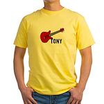 Guitar - Tony Yellow T-Shirt