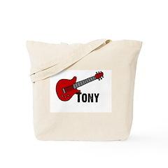 Guitar - Tony Tote Bag