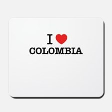 I Love COLOMBIA Mousepad
