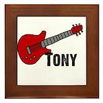 Guitar - Tony Framed Tile