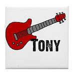 Guitar - Tony Tile Coaster