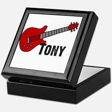 Guitar - Tony Keepsake Box