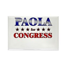 PAOLA for congress Rectangle Magnet