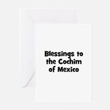 Blessings to the Cochim of Me Greeting Cards (Pk o