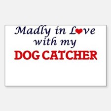 Madly in love with my Dog Catcher Decal