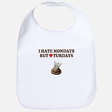 I hate Mondays funny shit Bib