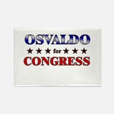 OSVALDO for congress Rectangle Magnet