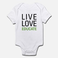 Live Love Educate Infant Bodysuit